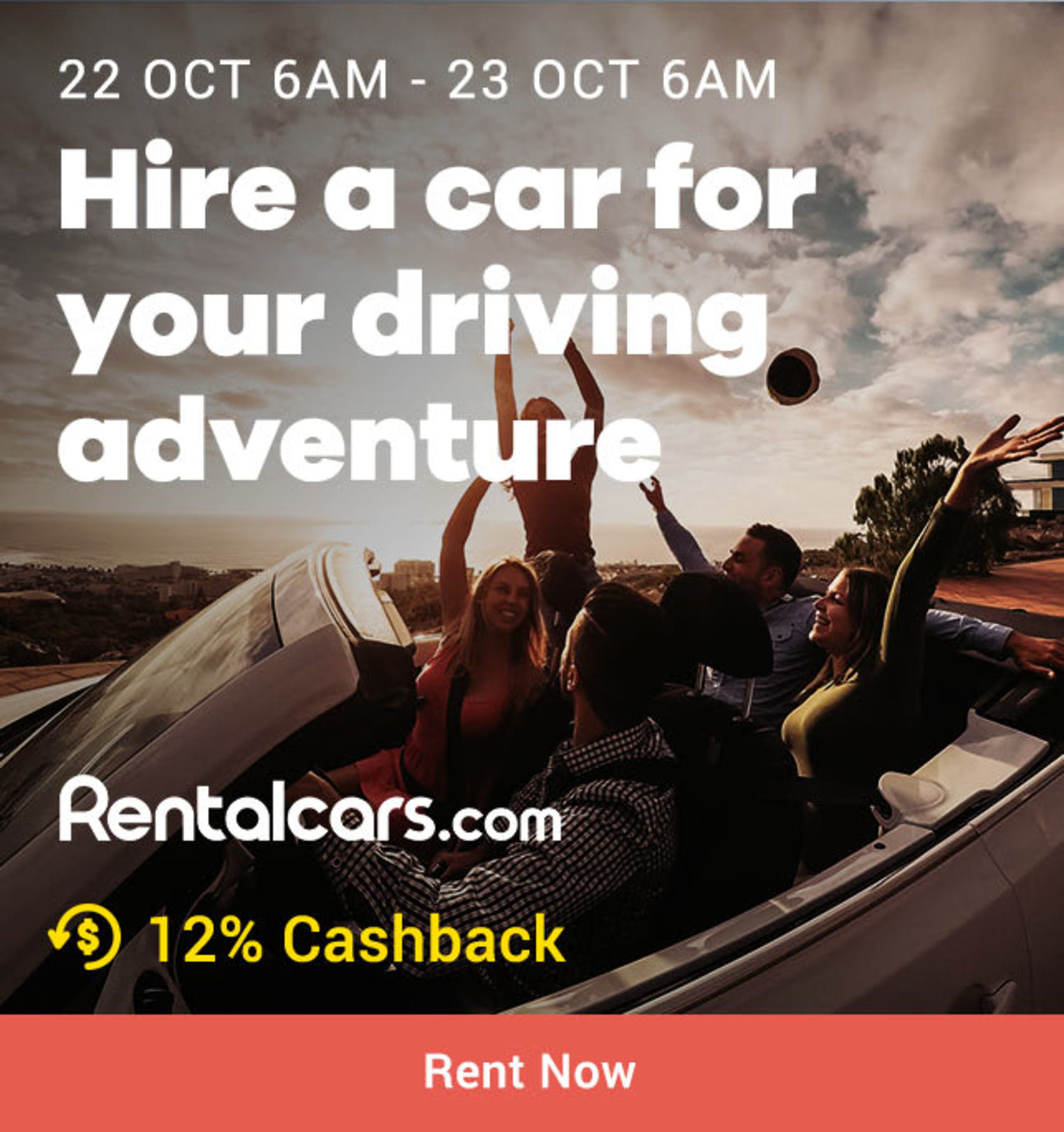 Rentalcars.com: Hire a car for your driving destination