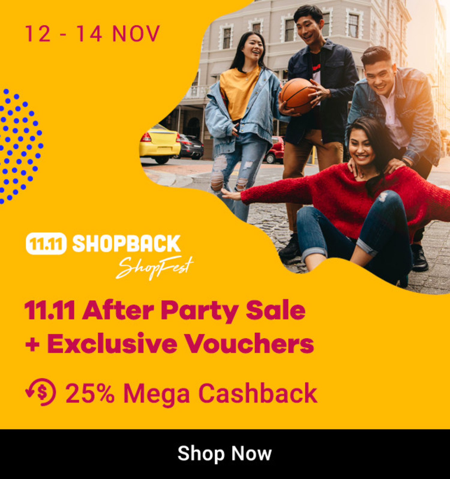 11.11 After Party Sale + Exclusicve Vouchers