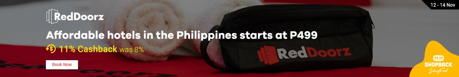 Reddoorz: Affordable hotels in the Philippines starts at P499