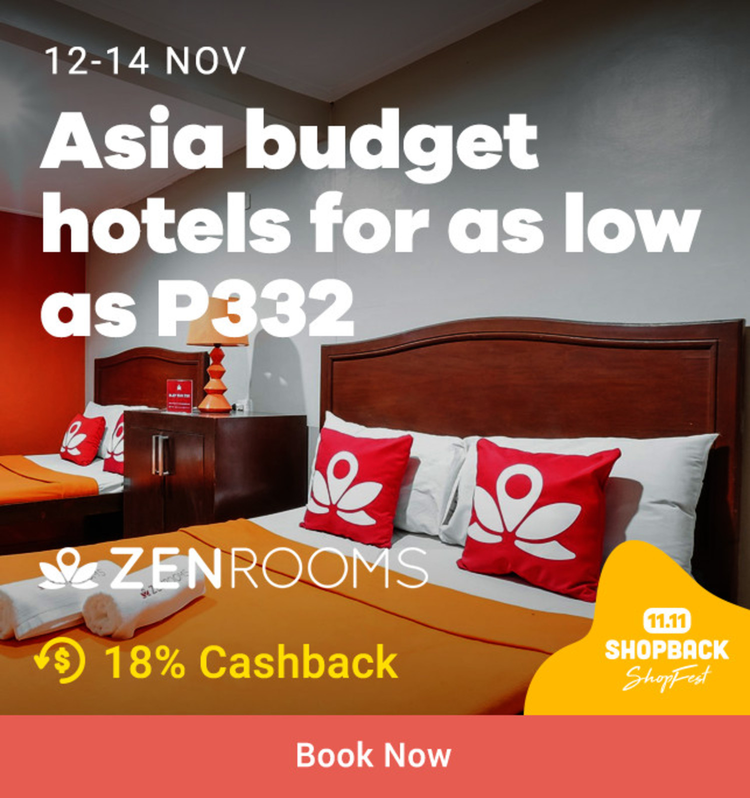 Zen Rooms: Asia Budget hotels for as low as P332