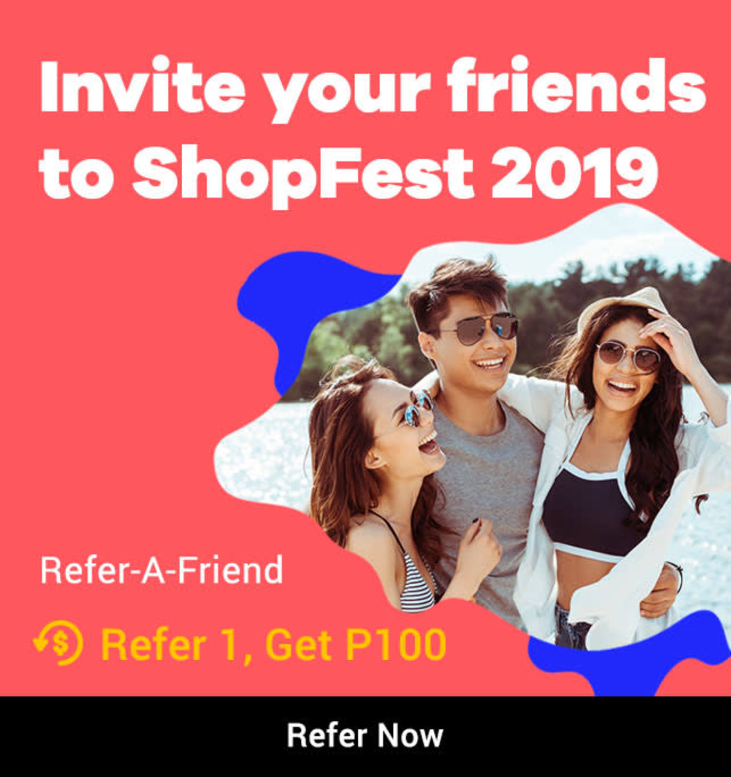 Refer-a-Friend: Get P100 Bonus Cashback