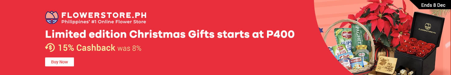 Flowerstore: Limited edition Christmas Gifts