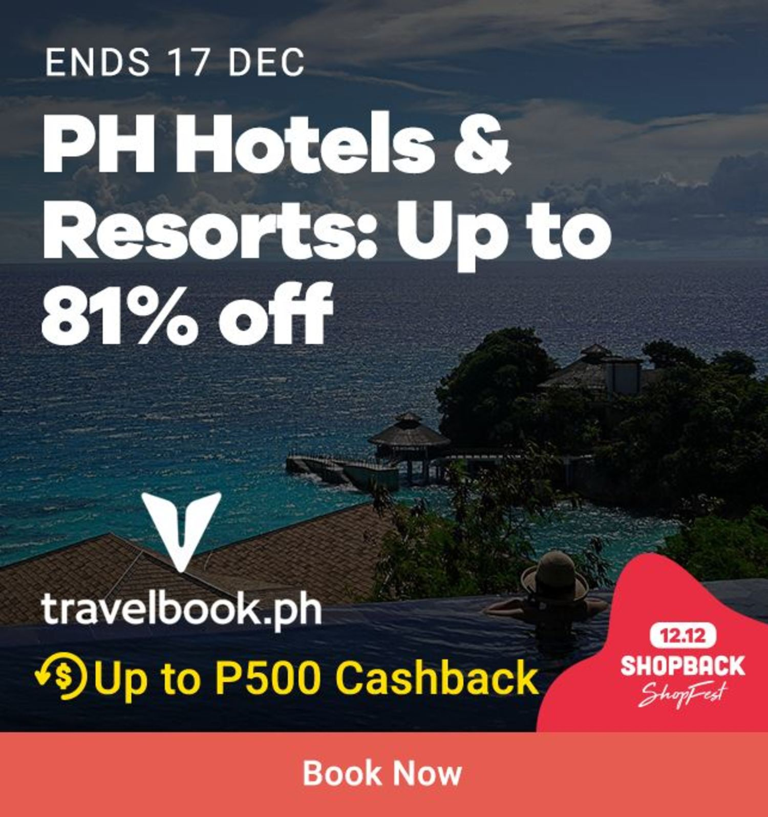 Travelbook: PH Hotels & Resorts Up to 81% off