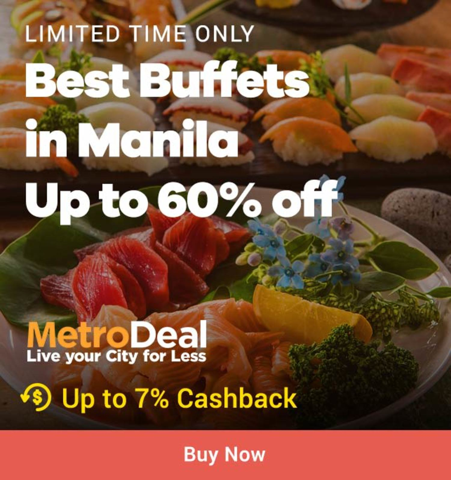 Metrodeal: Best Buffets in Manila Up to 60% off