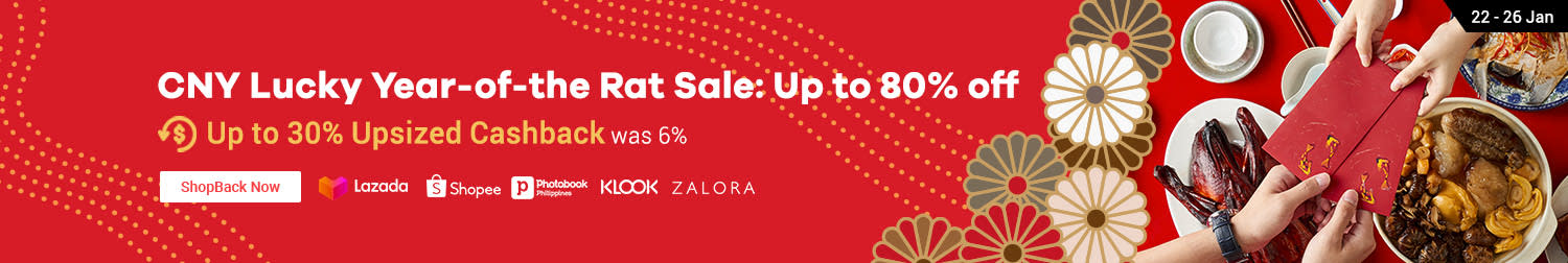 CNY Lucky Year of the Rat Sale 80% off