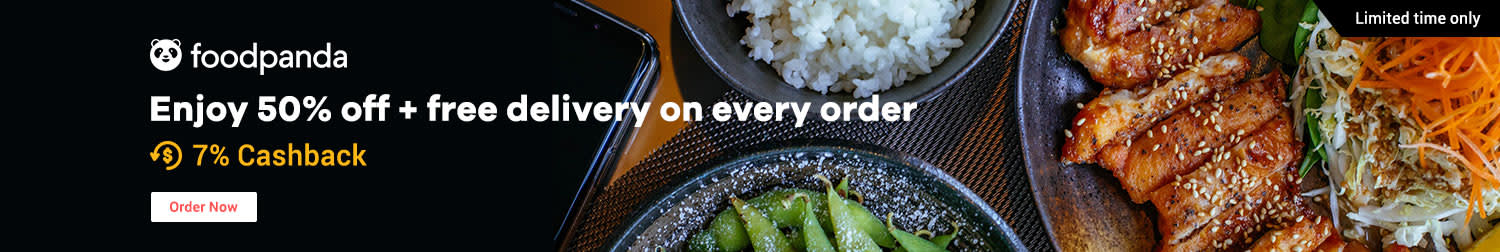 Foodpanda: 20% off Free delivery