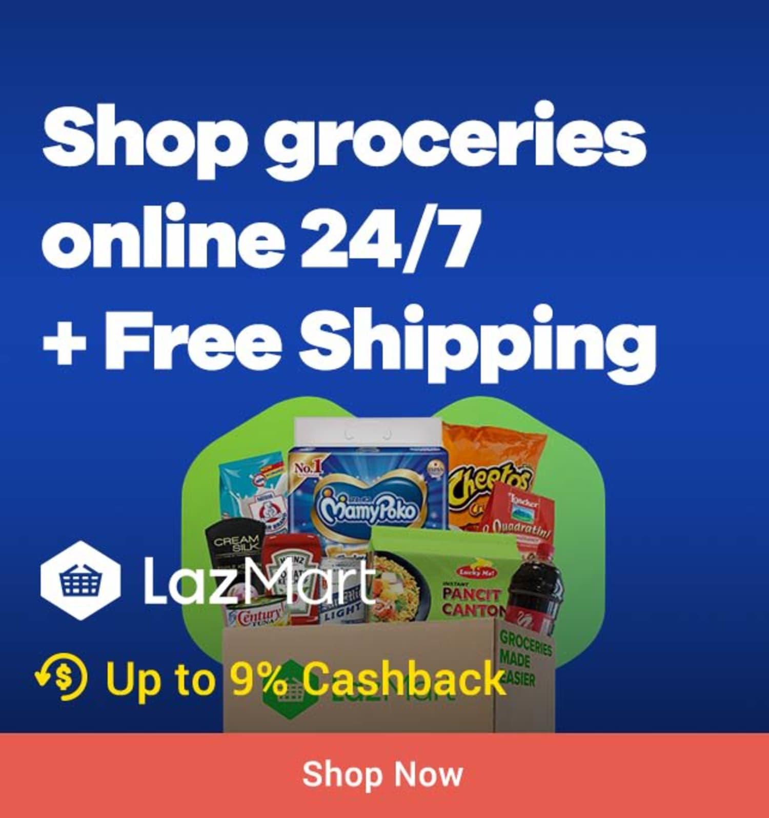 LazMart: Groceries online 24/7