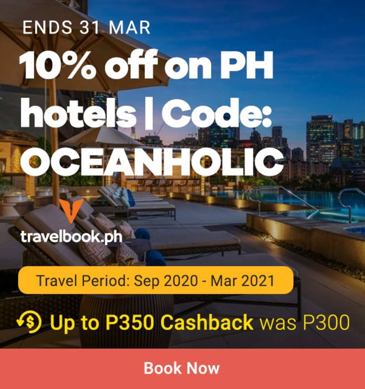 Travelbook: 10% off on PH hotels
