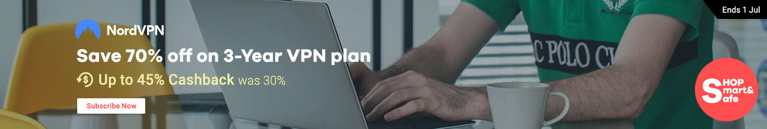 NordVPN: Work, stream & play safe online