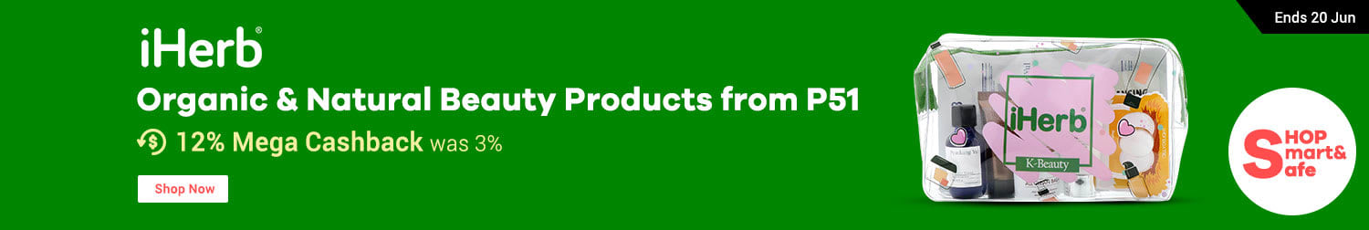 iHerb: Organic & Natural Beauty Products from P51