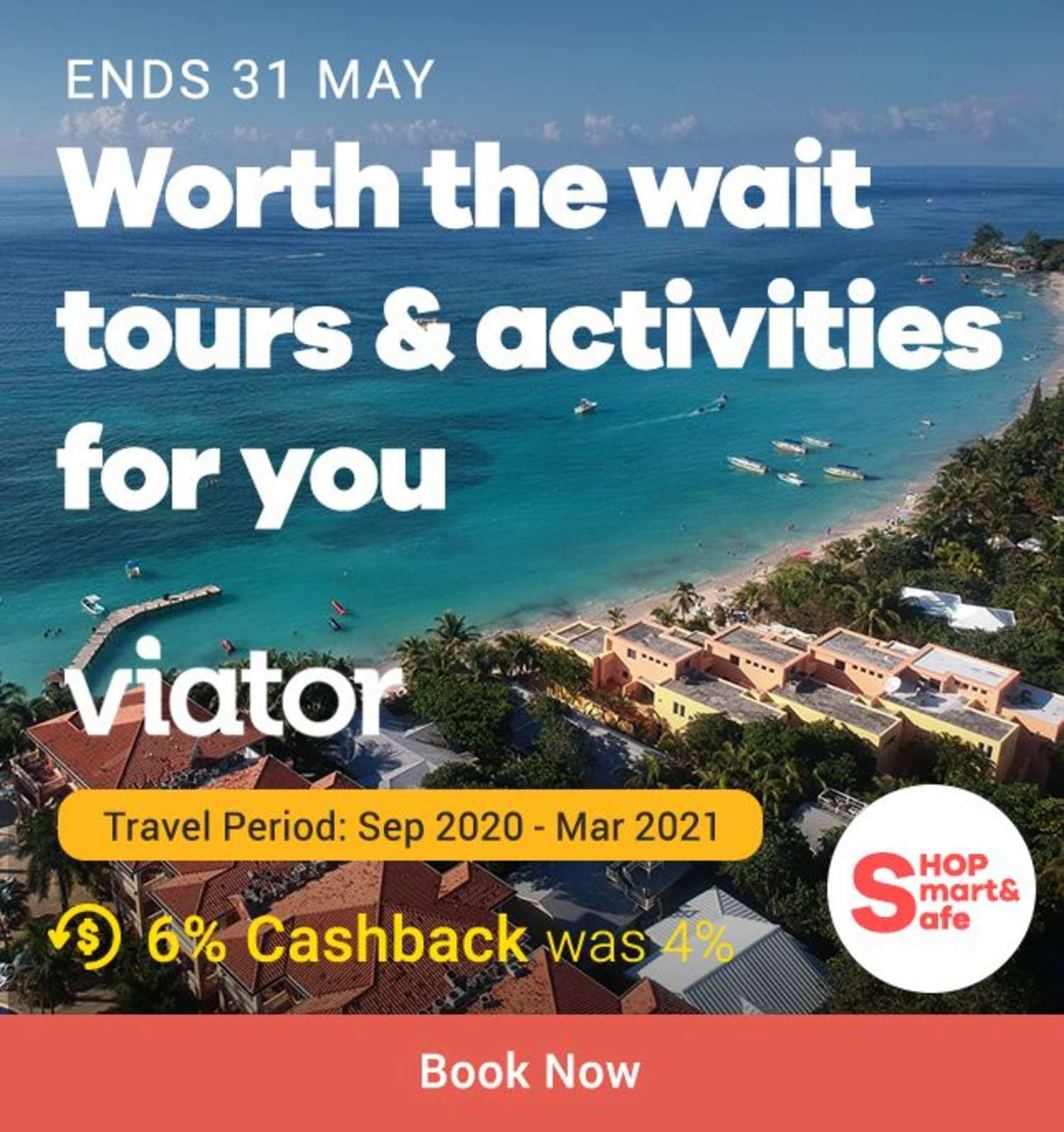 Viator: Worth the wait tours & activities