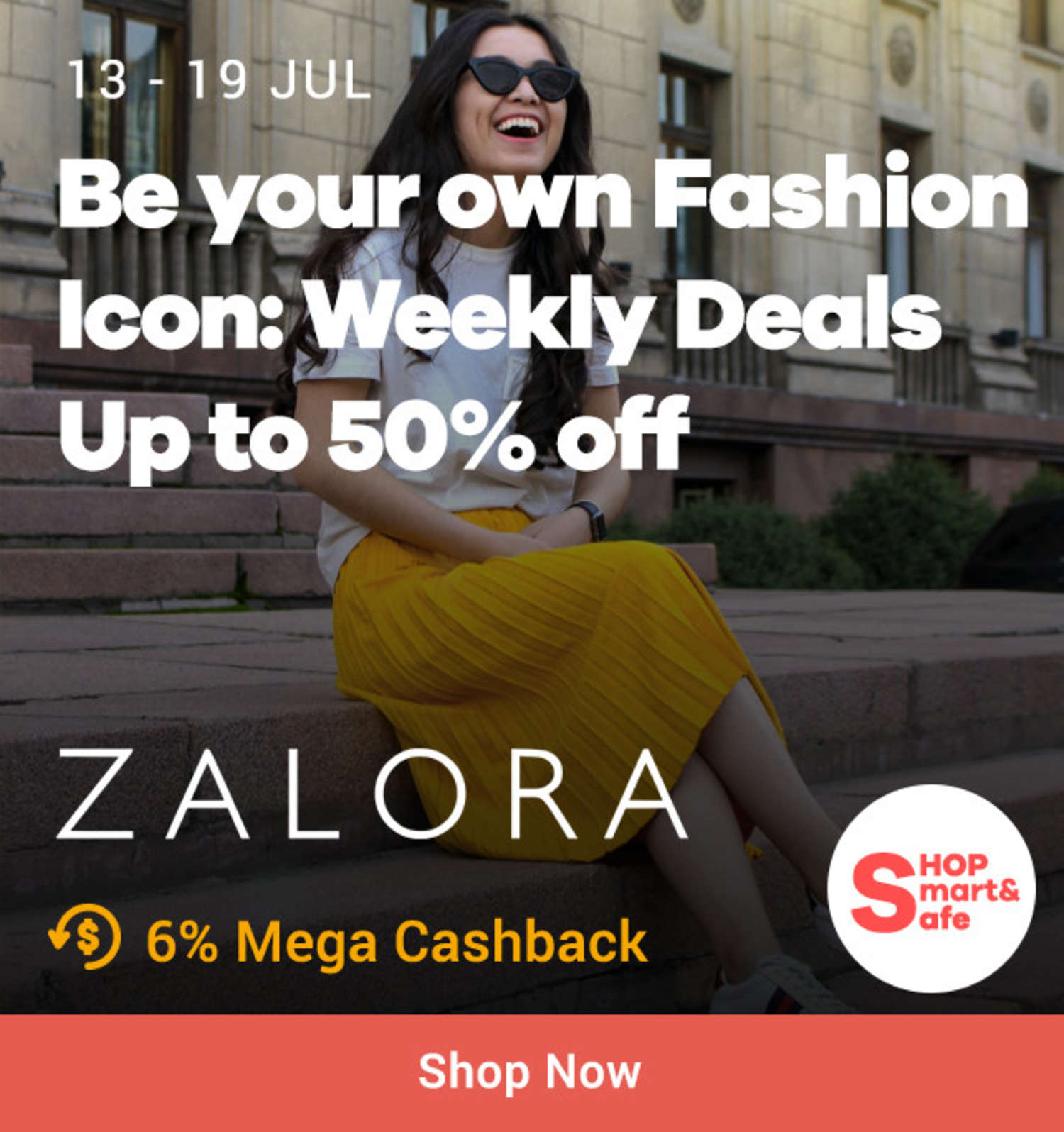 ZALORA: Be your own Fashion Icon Weekly Deals Up to 50% off