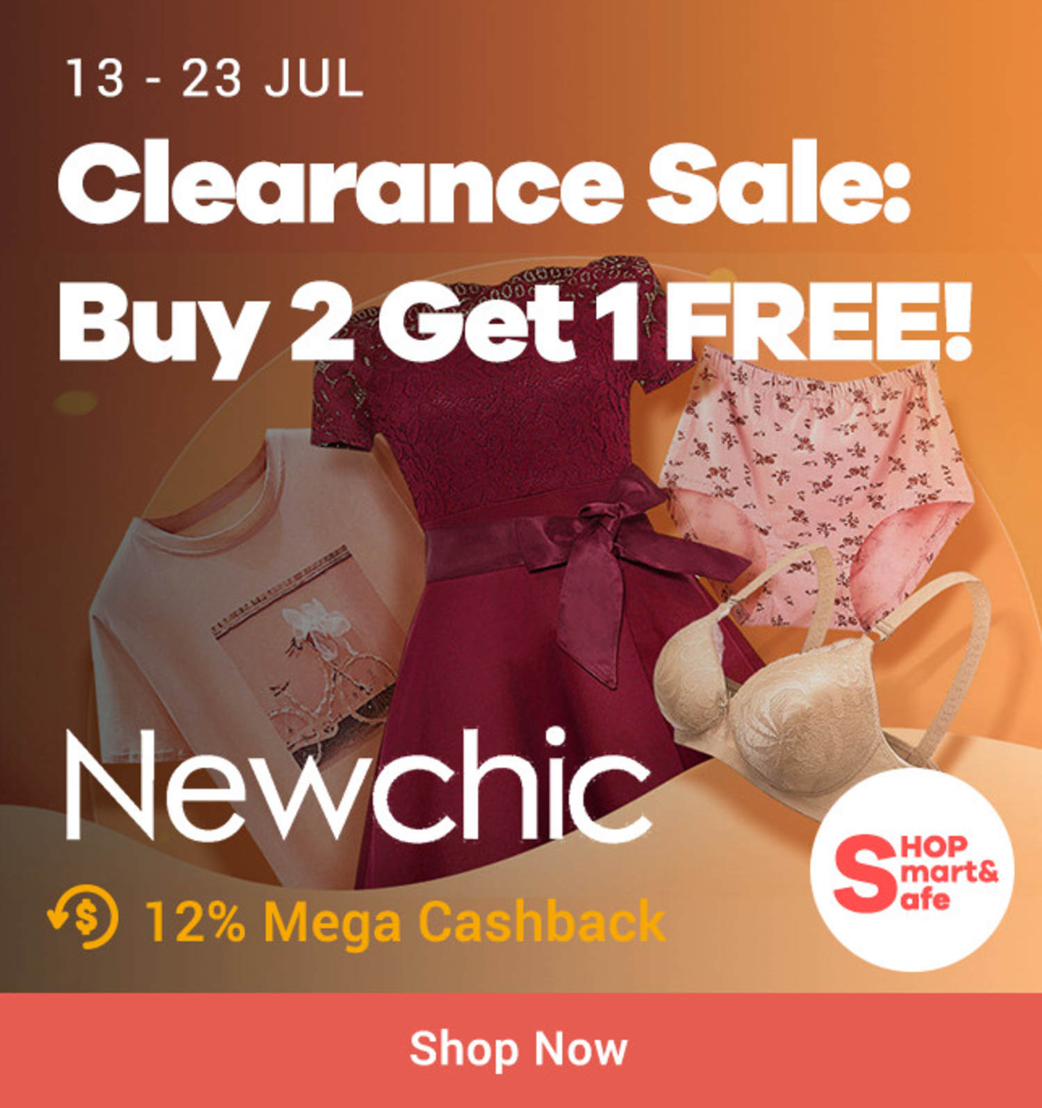 New Chic: Clearance Sale Buy 2 Get 1 Free