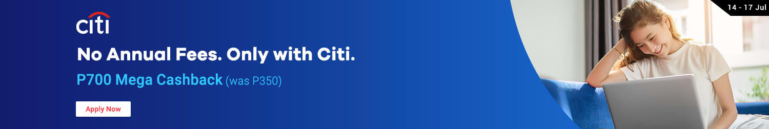 Citbank: No Annual Fees Only with Citi