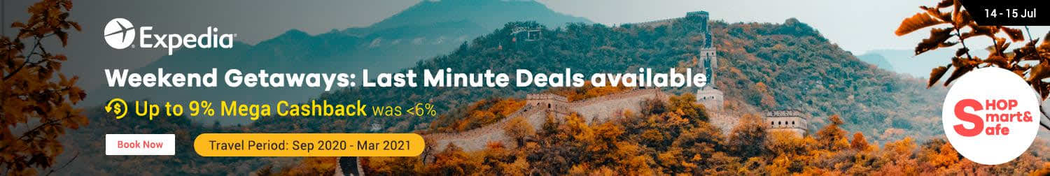 Expedia: Weekend Getaways Last Minute Deals Available
