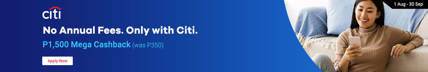 Citibank: No annual fees Only with Citi