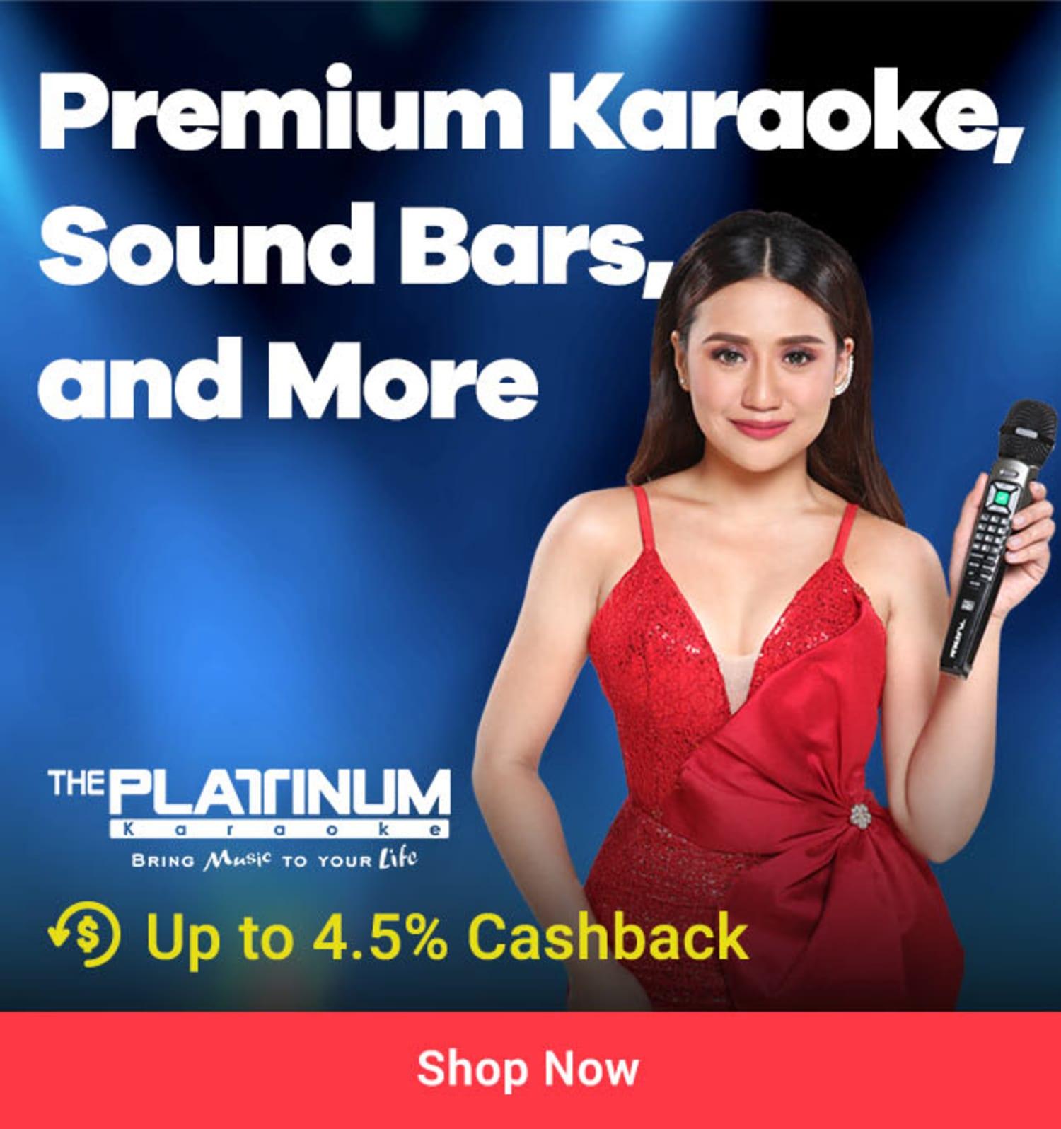 Platinum Karaoke: Premium Karaoke, Sound Bars & more