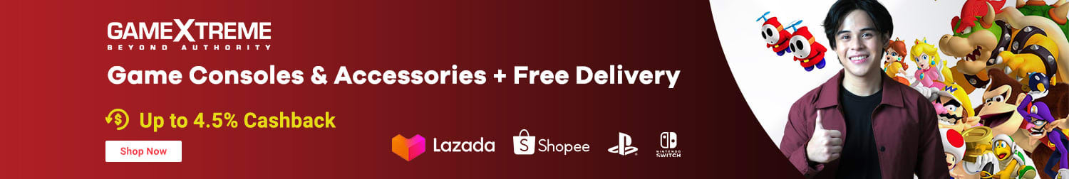 Lazada: Game Consoles & Accessories + Free Delivery