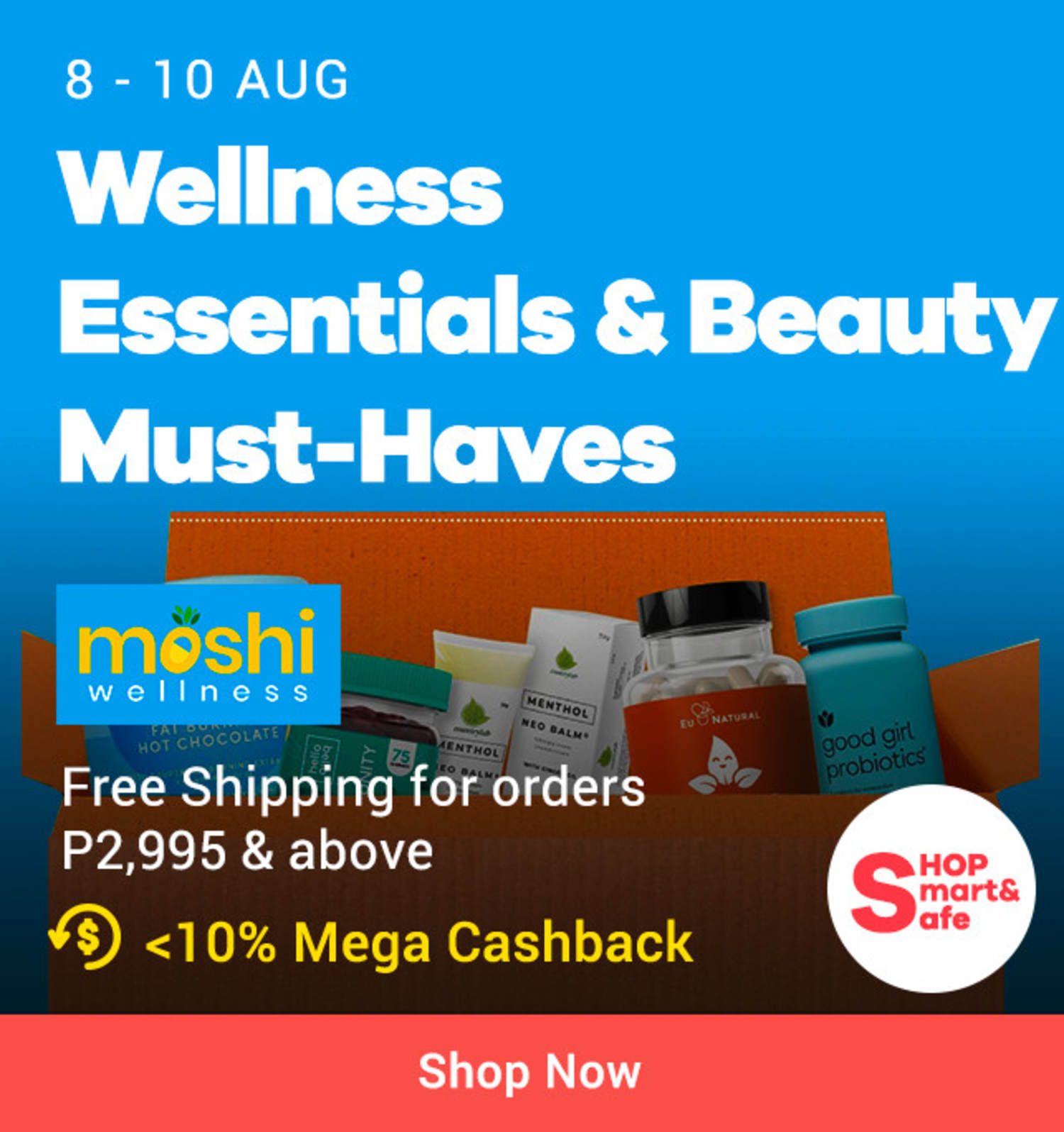 Moshi Wellness: Wellness Essentials & Beauty Must Haves