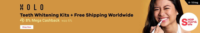 Holo: Teeth Whitening Kits + Free Shipping Worldwide