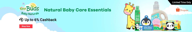 Tiny Buds: Natural Baby Care Essentials