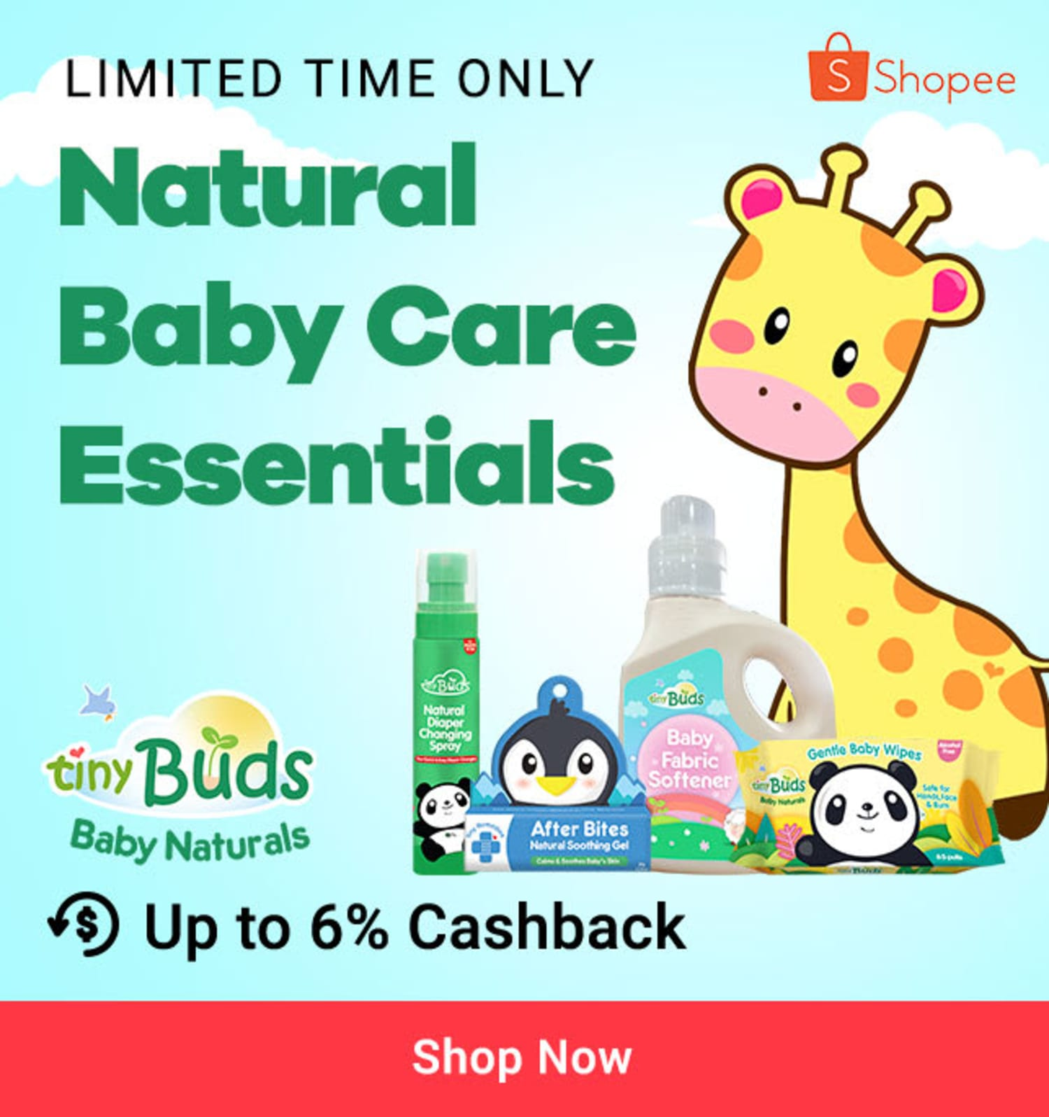 Tiny Buds: Natural Baby Care Essentials