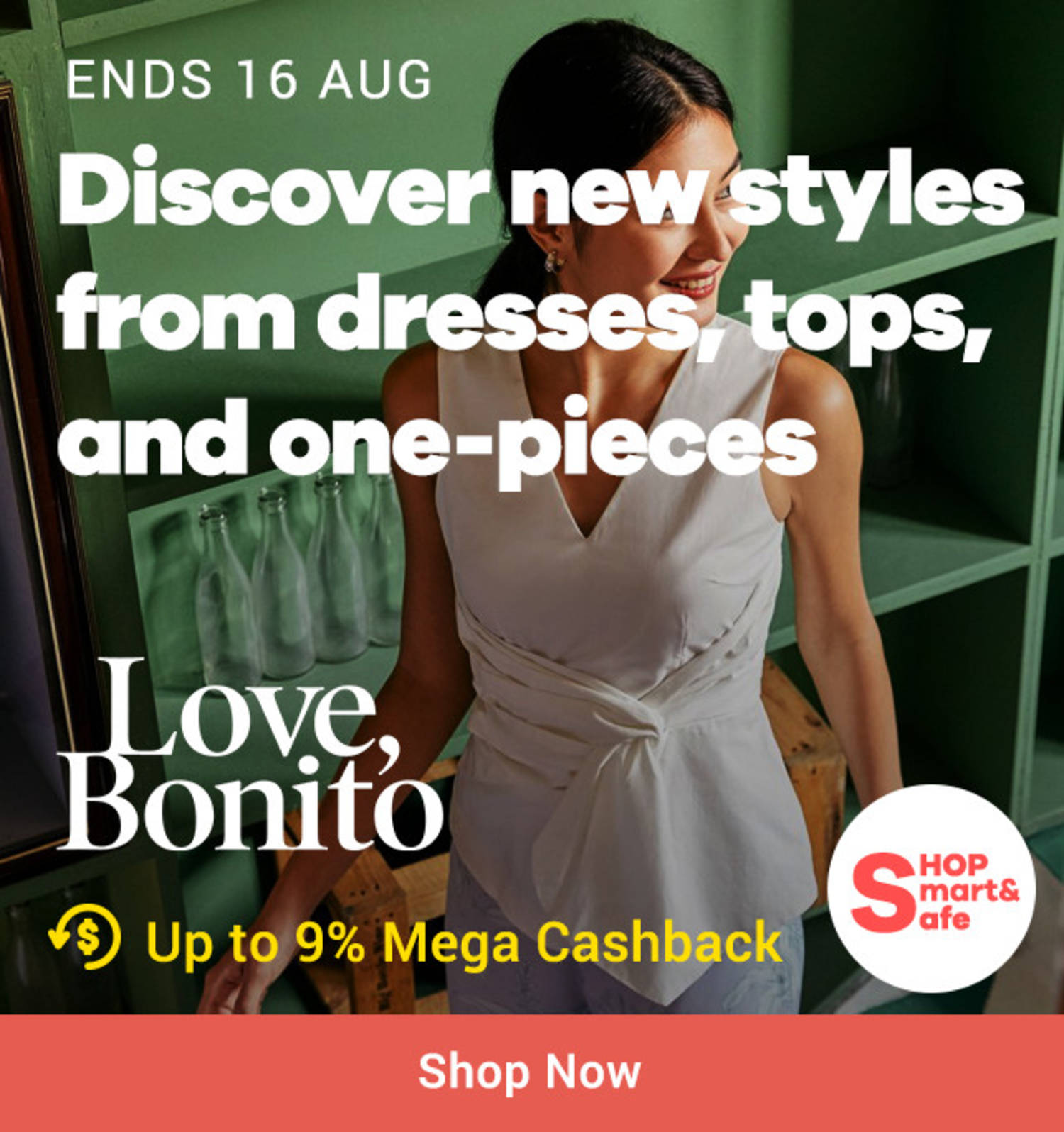 Love Bonito: Discover new styles from dresses, tops and one-pieces