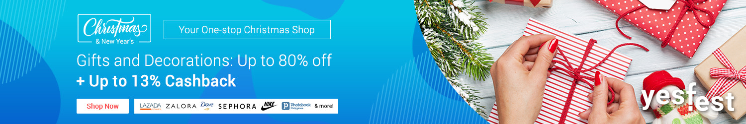 A Very ShopBack Christmas: Best Gifts, Deals & Giveaways + Up to 13% Cashback