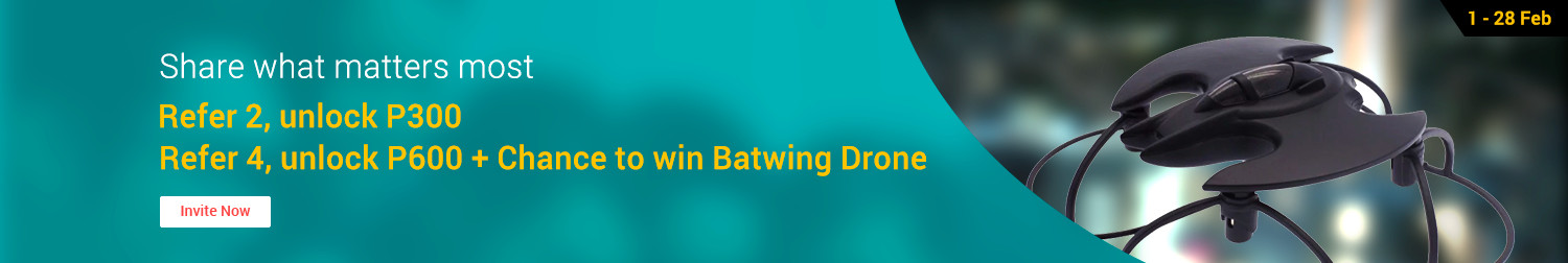 Ends 28 Feb | Share what matters most & get a chance to win a Batwing Drone