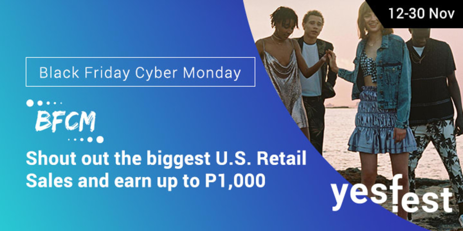 Ends 30 Nov | Refer your friends to the biggest US Cyber Sale