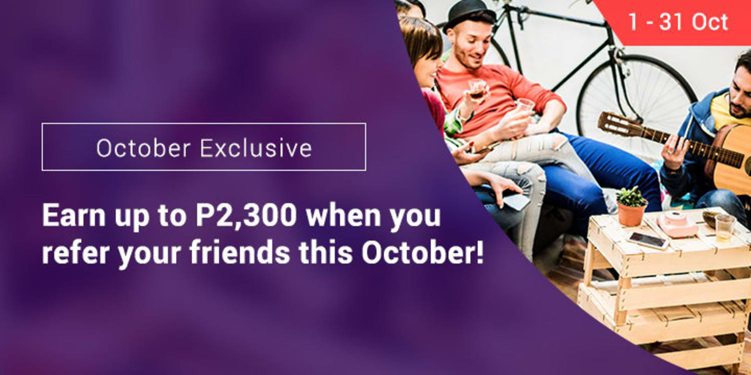 Ends 31 Oct | Earn up to P2,300 this month by referring your friends to ShopBack