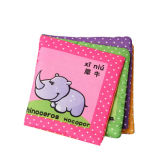 Intelligence development Cloth Cognize Book Educational Toy for Kid Baby Animals