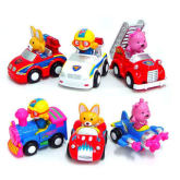 Pororo & Friends Kid Car Set (6pcs)
