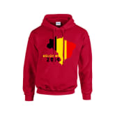 Gildan Belgium 2014 Country Flag Hoody (red) - Kids