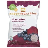 Others Happy Munchies Organic Rice Cakes 1.4oz (Blueberry Beet)) x 3packs