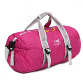 Foldable Waterproof Hangbag Travel Bag Luggage Bag Sports Backpack Hiking Daypacks (Rose Red) (Intl)