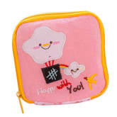 Imixlot Cute Girl Sanitary Pad Organizer Sanitary Napkin Towel Mini Bag (Pink)