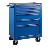 Blue Point Roll cab 6 drawers, Blue KRB13006KPRB