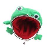 OEM Frog Fluff Coin Purse Wallet Cartoon Green Cute