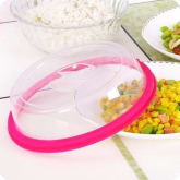 Buyincoins BUYINCOINS Vogue Kitchen Bowl Plate Sealing Cover Fresh Lid Oven Oil Preventer Cover Lid