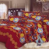 Belarose Set Bed Cover Lilo - 180x200 - Merah Maroon