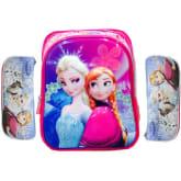 Bgc BGC Disney Frozen 3D Timbul Glossy Gliter 4 Kantong IMPORT + Kotak Pensil