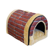 Buytra Soft Pet Warm Dog Bed Pet House Red