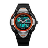 Skmei Kids LED Personality Creative Watch With Waterproof Outdoor Sports Electronic Wristwatches(Black)