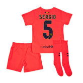 Nike 2014-15 Barcelona Away Baby Kit (Sergio 5)