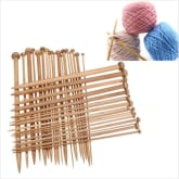 Jetting Buy Smooth Crochet Carbonized Bamboo Single Pointed 36Pcs Bamboo