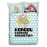 Kigu Kawaii New Kongou KanCol Japanese Anime Bed Blanket ADP-CP151231