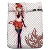 Kigu Kawaii New Alisa - God Eater Japan Anime Bed Blanket with Pillow Covers H0168
