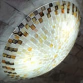 MODERN CONCH CEILING LAMP LIVING ROOM BED ROOM BALCONY HALLWAY PORCH LAMP 30CM (Day White)