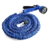 25FT Expandable Garden Hose Pipe with 7 in 1 Spray Gun